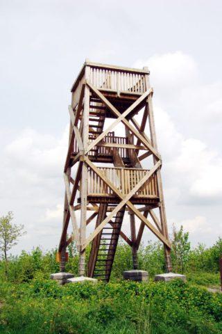 Dřevěná rozhledna Liptaň