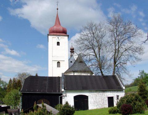 Kostel sv. Kateřiny v Krasově