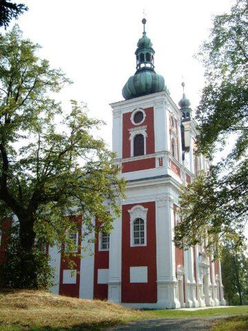 Poutní kostel Panny Marie Sedmibolestné na Cvilíně (Krnov)