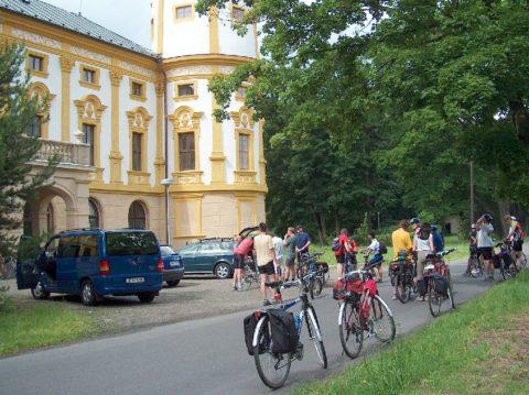 Česko-polská příhraniční cyklotrasa Opavice - Linhartovy