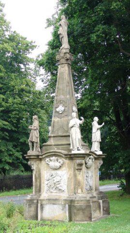 Sousošší Panny Marie v Jindřichově