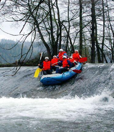 Vodní turistika řeka Opava